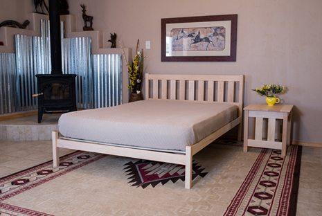 Nomad Furniture Mission Platform Bed Frame