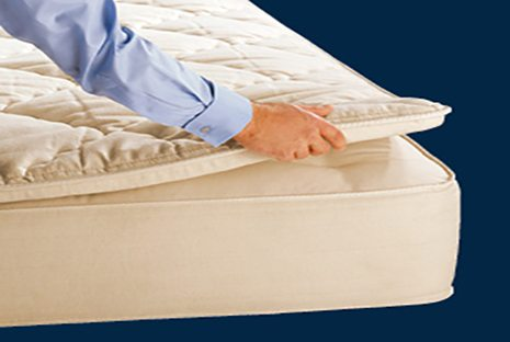 royal pedic premier natural pillowtop pad free shipping sku