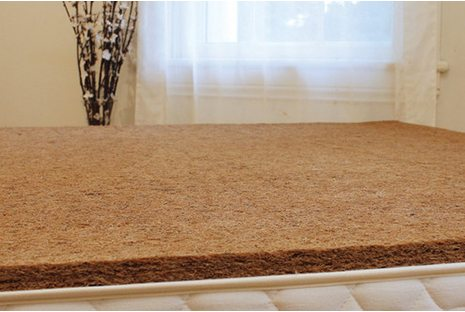 Savvy Rest Bed Rug Made From Coir
