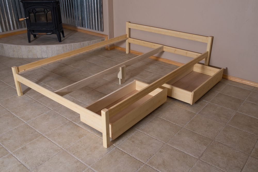under bed crates remodelaholic underbed build your storage own diy rolling drawer tutorial passion drawers on