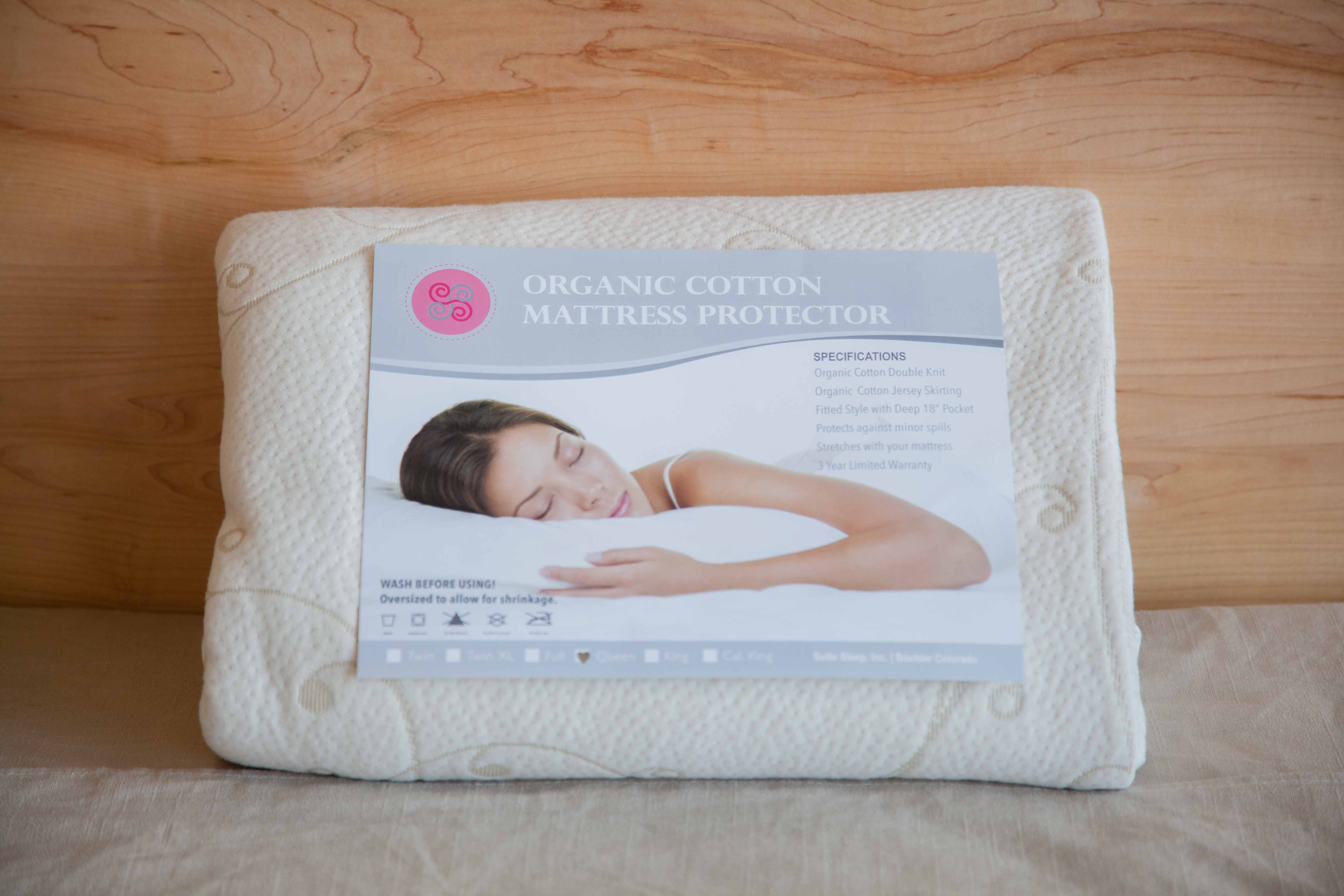 suite sleep organic cotton mattress pad free shipping sku - Organic Cotton Mattress