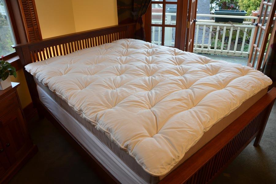 Soaring Heart Organic Wool Mattress Topper